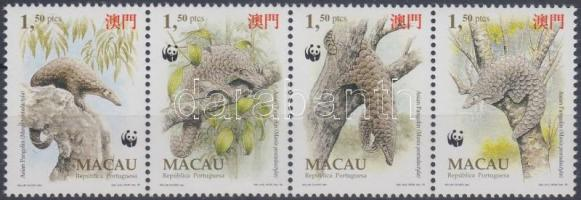1995 WWF Kínai tobzoska négyescsík Mi 795-798