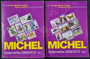 Michel Tengerentúl 3 Dél Amerika katalógus 2009/2010 1-2 kötetek használt de jó állapotban