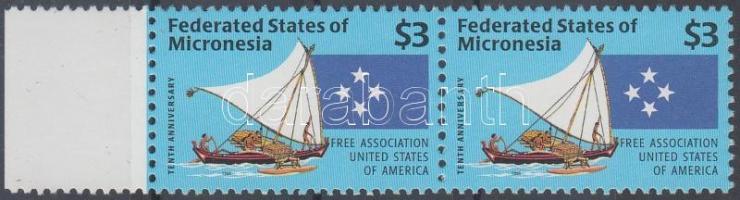 1996 Szabad társulás az Egyesült Államokkal ívszéli pár Mi 528