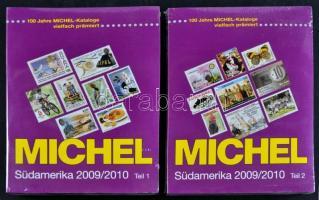 Michel Tengerentúl 3 Dél-Amerika 2 kötetes katalógus 2009/2010 új állapotban