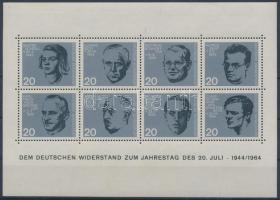 1964 Hitler elleni merénylet 20. évfordulója blokk Mi 3
