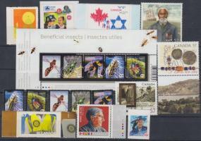 14 stamps + 1 block, 14 db bélyeg + 1 blokk