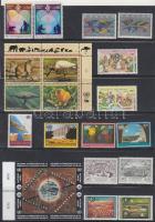 1994-1995 22 klf bélyeg, közte 2 négyestömb