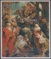 1977 400 éve született Rubens - karácsony blokk Mi 16