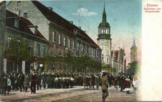 Dessau, Aufziehen der Hauptwache / main guard