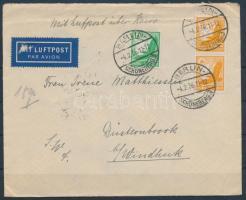 1936 Légi levél Délnyugat-Afrikába