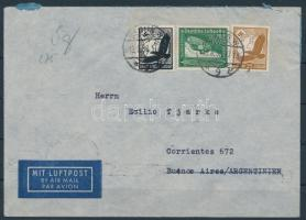 1938 Légi levél Argentínába