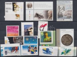 14 stamps, margin and corner, 14 db bélyeg, ívszéli, illetve ívsarkival