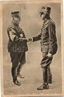 Joseph Joffre gratulál egy hősnek, Joseph Joffre congratulates a hero