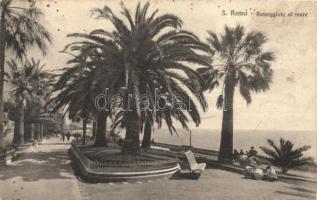 Sanremo, Passegiata al mare / promenade