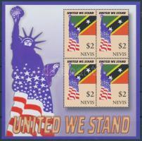 2002 Szolidaritás az Amerikai Egyesült Államokkal kisív Mi 1810