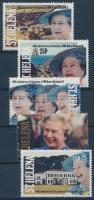 40th anniversary of II. Queen Elizabeth's accession to the throne set, II. Erzsébet királynő trónra lépésének 40. évfordulója sor