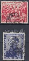 1951 Német-kínai barátság Mi 287-288