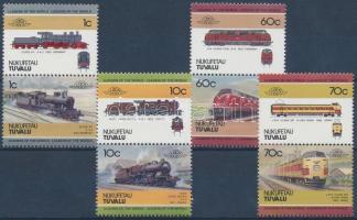 Locomotives 4 pairs (set) Mozdonyok 4 pár (sor)