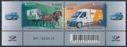 2013 Europa CEPT Postai járművek ívsarki pár Mi 763-764