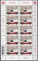 2013 Europa CEPT Postai járművek kisív Mi 3132