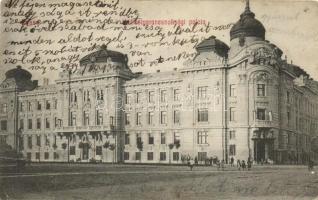 Kosice, Palace of Military command, Kassa, Hadtestparancsnoksági palota, kiadja Duppanna András