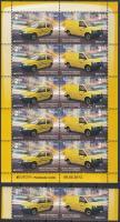 2013 Europa CEPT Postai járművek pár + kisív Mi 618-619
