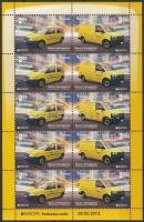 2013 Europa CEPT Postai járművek kisív Mi 618-619