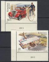 Europa CEPT Postal vehicles corner set, Europa CEPT Postai járművek ívsarki sor