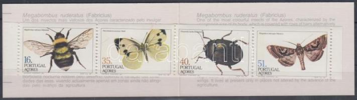 Insects stamp-booklet, Rovarok bélyegfüzet