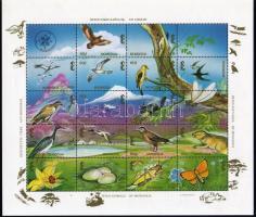 Domestic Animal World mini sheet Hazai állatvilág kisív