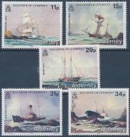 1987 Hajótörések sor Mi 32-36