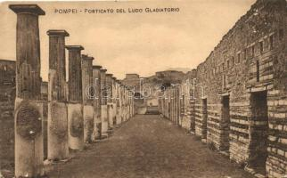 Pompei, porch of gladiators