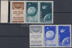 First Soviet satellite 2 stripes of 3, 1. Szovjet műhold 2 hármascsík