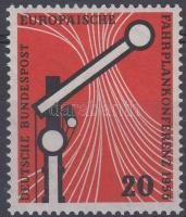 1955 Európai menetrendi konferencia Mi 219