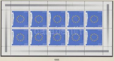 1995 Europa CEPT kisív sor Mi 1790-1791