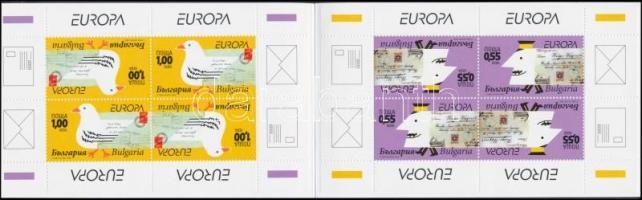 Europe CEPT the letter stamp-booklet, Europa CEPT a levél bélyegfüzet