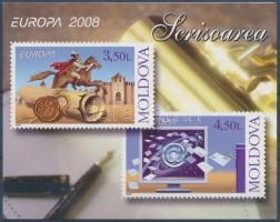 2008 Europa CEPT a levél bélyegfüzet MH 12 (Mi 611-612)