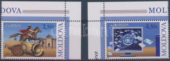 2008 Europa CEPT a levél ívsarki sor Mi 611-612