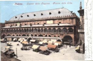 Padova, Piazza delle Erbe, Salone della Ragione / square, market place