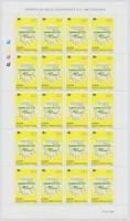 1998 Europa CEPT kisív / Mi 128 minisheet