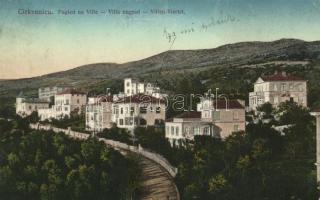 Crikvenica, villa negyed / villas, Divald & Monostory
