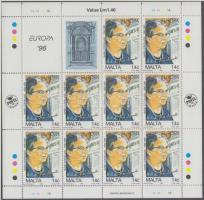 1996 Europa CEPT kisív sor Mi 983-984
