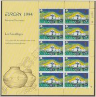 1994 Europa CEPT kisív sor Mi 635-638