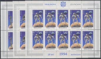 1994 Europa CEPT kisív sor Mi 106-108