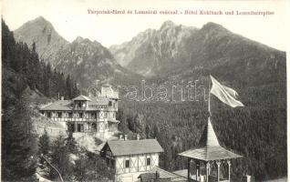 Tátra, Tarpatak-füred, Lomnici csúcs, hotel (non pc)