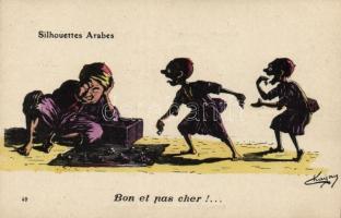 Arabian silhouettes, Good and cheap..., humour s: Chagny, Arab sziluett, humor s: Chagny