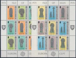 1978 Europa CEPT Műemlékek kisív sor Mi 122-127