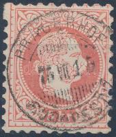 PR(AGERHOF - BUDAPEST) vasúti bélyegzés