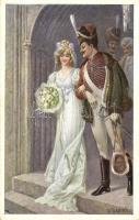 Cseh katonai esküvő, B.K.W.I. 223-1. s: R. Kratky, Czech soldier's wedding, B.K.W.I. 223-1. s: R. Kratky
