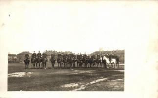 WWI military, cavalry group photo, I. világháborús lovas csoportkép, fotó