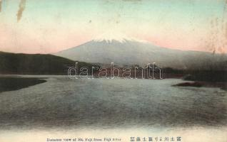 Mount Fuji from Fuji river