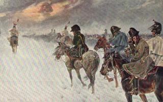 Battle, Ser. 76. Nr. 13. s: Kossak, A harctéren, Ser. 76. Nr. 13. s: Kossak