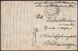 1916 Képeslap / Postcard SMS BABENBERG