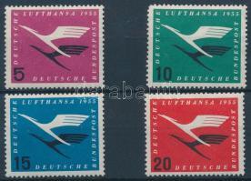 1955 Lufthansa sor Mi 205-208